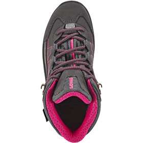Lowa Approach GTX Mid Shoes Kinder anthracite/berry